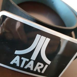 ATARI unisex Italian leather belt